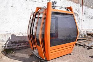 Así serán las cabinas con las que contará el teleférico de Torreón.