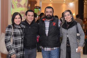 06022016 Paola, Julio, Jorge y Cristina.
