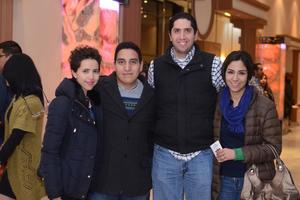06022016 Paola, Sergio, Agustín y Marcela.