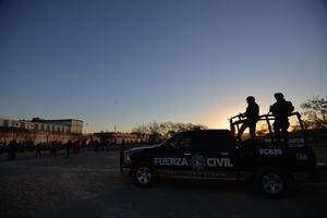 Se montó un cerco de seguridad en el penal del Topo Chico, así como en otras cárceles del estado.