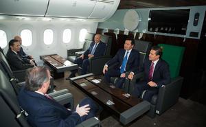 Peña Nieto dijo que el avión no es propiedad suya, sino del Estado.