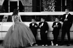 07022016 Ana Sofía Blanco Dorado en compañía de sus primos: Armando, Óscar, Jorge y Sergio.- Laura Grageda Fotografía