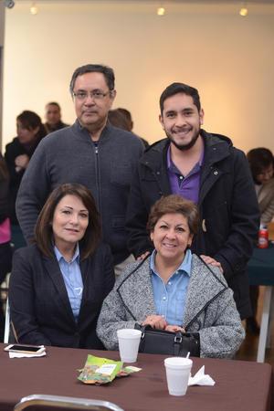 07022016 EVENTO CULTURAL.  Valente, Andrés, Gabriela y Betty.