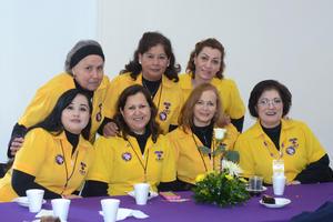 07022016 REUNIóN ANUAL.  Hortensia, Rocío, Nely, Jazmín, Olga, Maye y Mine.