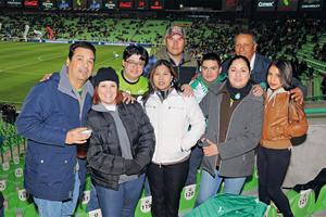 07022016 EN EL FUT.  Familias Galván Camacho, Villarreal Arizpe, Arizpe Gtz. y Abel Flores.