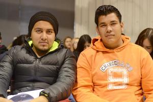 10022016 EN RECIENTE EVENTO.  Edson y Josué.
