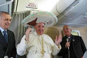El Papa Francisco ya se encuentra viajando hacia México.