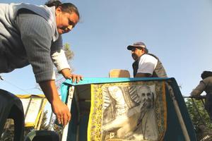 Imágenes de la Virgen de Guadalupe le darán la bienvenida.