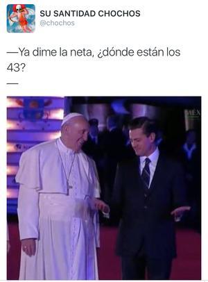 El caso Ayotzinapa se hizo presente en los memes.