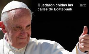 El cuidado de las calles por la visita del Papa ha sido motivo de memes.