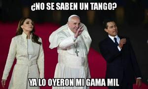 Con motivo de su visita a México, los tuiteros le dieron la bienvenida al pontífice muy a su estilo.