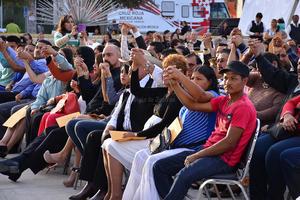 La banda Toro Viejo amenizó la ceremonia.