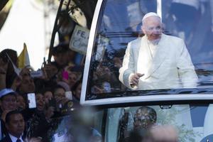 El Papa se dejó querer por el pueblo mexicano.