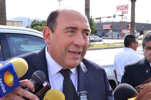 El gobernador Rubén Moreira acudió a su funeral.