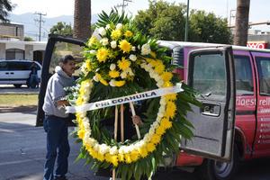 El PRI Coahuila expresó de esta forma sus condolencias.