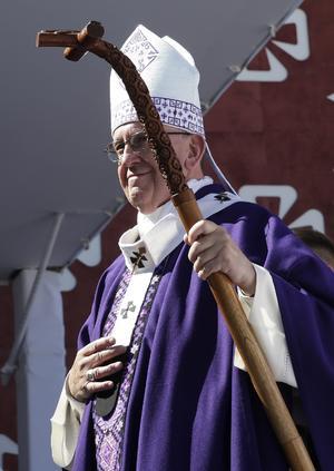 """Finalmente, el pontífice reconoció que los pueblos indígenas """"tienen mucho que enseñarnos""""."""
