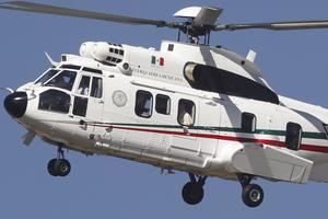 Posteriormente, fue trasladado en helicóptero a San Cristóbal.