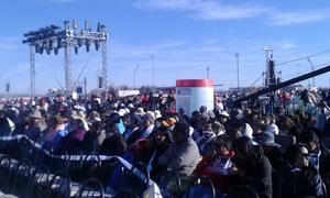 La misa tendrá lugar en las antiguas instalaciones de la Feria de Ciudad Juárez.