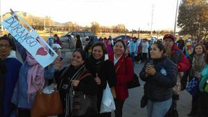 Laguneros han viajado hasta Ciudad Juárez a escuchar el mensaje del Papa Francisco.