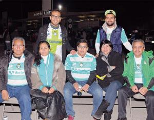 14022016 EN EL FUT.  Familias Herrera y Pérez.