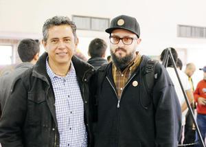14022016 Guayo Valenzuela y Luis Sergio Máscara.