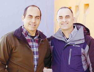 14022016 EN RECIENTE EVENTO.  Rodolfo y Carlos.