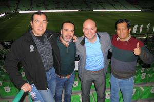 15022016 César, Julio, Vicente y Mike.