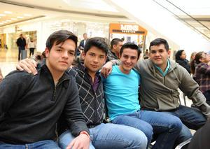 15022016 Luis, Lucio, Sebastián y Manuel.