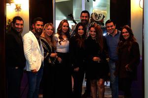 Agustín, Pepe, Ary, Victoria, Paola, Lily, Rubén, Liliana y Sinhué