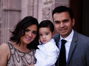 Daniela, Daniel y Javier