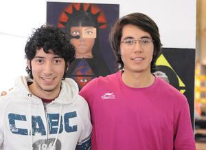 18022016 COMPAñEROS.  Víctor y Fernando.