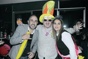 20022016 DIVERTIDO CUMPLE.  Ángel, Luis Alberto y Karina.
