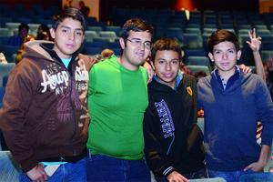 21022016 Hugo, Eduardo, Pablo y José Alberto.