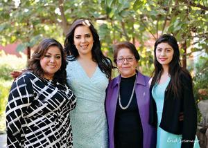 21022016 Tere Torres, Frida Palacios, Rosario García y Andrea Ocón.