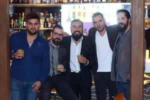 22022016 Beto, Andrés, Javier, Carlos y David.