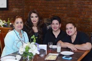 23022016 Margarita, Betty, Nena y Claudia.