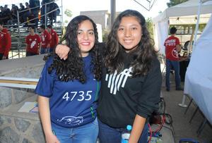 24022016 Natalia Terrones y Cynthia Niño.