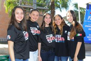 24022016 Mariana, Samantha, Isabel, Alejandra y Marcela.