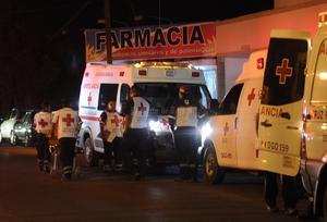 Heridos fueron trasladados a distintos hospitales de La Laguna.
