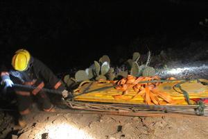 Se informó que entre los muertos se encontraba el chofer del autobús de nombre Héctor Rodríguez Gámez.