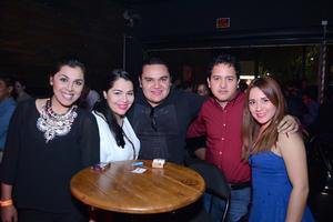 26022016 ANIVERSARIO DE RADIODIFUSORA.  Maggi, Isabel, José Manuel, Juan y Laura.