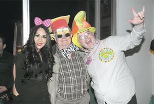 25022016 SE DIVIERTEN AL MáXIMO.  Maravilla, Juan Manuel y Luis Alberto.
