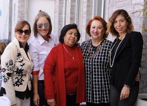 27022016 Claudia, Hilda, Lety, Tita y Ely.