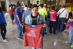 28022016 Xavi Salas, quien se preparó arduamente para mejorar su tiempo en los 10 kms.
