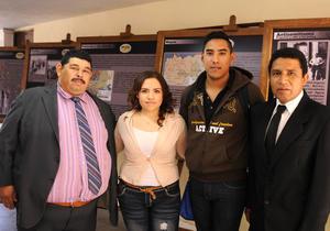 29022016 Sergio Hugo Salinas, Angélica Galván, Roberto Rosales y Juan José Rodríguez.