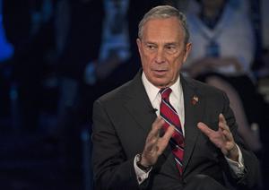 El fundador de la agencia de información financiera Bloomberg, Michael Bloomberg.