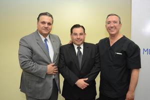 01032016 Jorge Murra, Carlos Morales y Marcelino Covarrubias.
