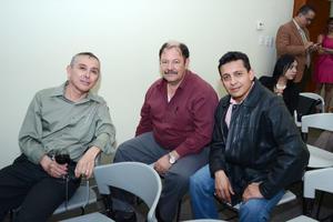 01032016 Federico Bernabé, Jesús Dávila y Cuauhtémoc Rangel.
