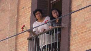 Los ciudadanos gomezpalatinos salieron de sus casas para despedir a Carlos Herrera.
