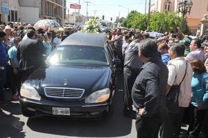 Los asistentes mostraron su solidaridad con la familia Herrera.